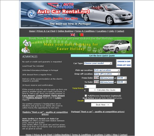 Auto Car Rental Portugal
