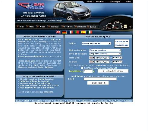 Auto Car Hire Portugal