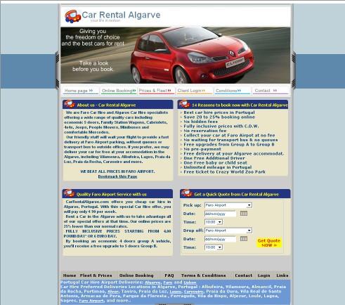 Car Rental Algarve
