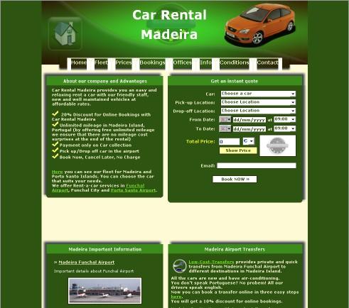 Car Rental Madeira