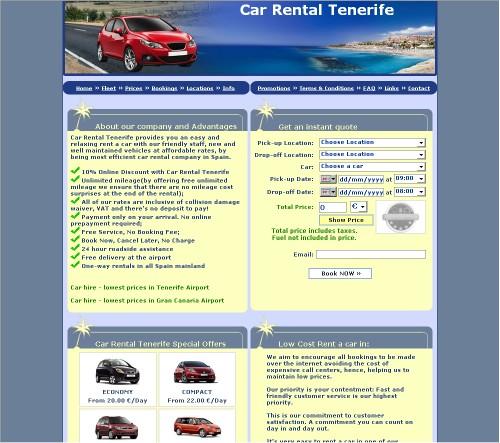 Car Rental Tenerife