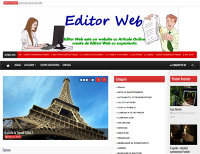 Editor Web