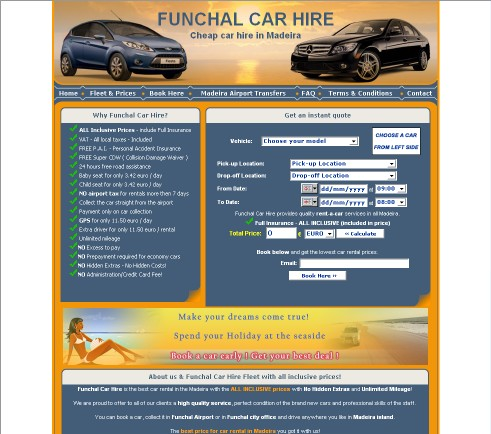 Funchal Car Hire