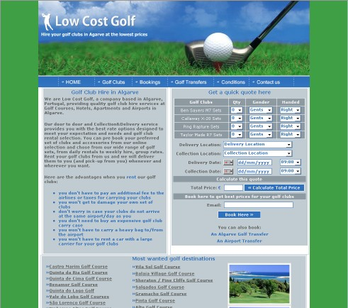 Low Cost Golf